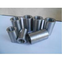 Wholesale Carbon Steel Threaded Rebar Coupler , Reinforcing Concrete Threaded Rebar Joint Coupler from china suppliers