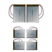 Wholesale 8.5mm Thickness Lithium Polymer Cells / 3.7 V Li Poly Battery For Tracking Device 3000mAh from china suppliers