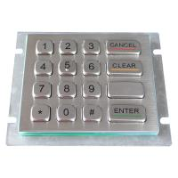Wholesale IP66 304 Stainless Steel rear panel mounting industrial Keypad For outdoor applications from china suppliers