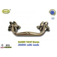 Wholesale Antique Brass Finish Metal Coffin Handles Zinc Alloy coffin handle H018 antique bronze size 20*7.5cm from china suppliers