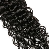 Quality Cuticle virgin Brazilian hair weave ,deep curly (water curly) for sale