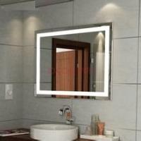 Wholesale Customized big size lighted mirror with mirror demister pads from china suppliers