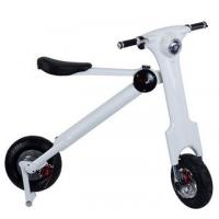 Wholesale 12inch Adult Folding Electric Bicycle / Bike With Seat , 35km/H Max Speed from china suppliers