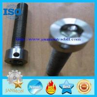 Wholesale Bolt with hole, Bolt with Hole in Head ,Hex head bolts with holes,Hex bolts with holes,Black Hex socket bolt with hole from china suppliers