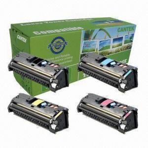 China Color Toner Cartridges for HP LaserJet 2550, HP3960A/3960/3960A/HP3960/Q3960A/Q3961a/Q3962/3963a on sale