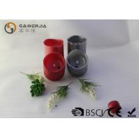 Indoor Red Flameless Candles Led , Led Battery Operated Candles