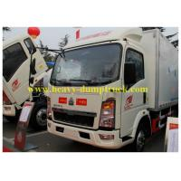 Wholesale HOWO small refrigerated box trucks 4X2 for fresh food transport from china suppliers