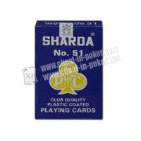 Wholesale marked cards,XF India Sharda NO.51 paper UV playing marked card from china suppliers