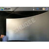 Wholesale Fiberglass / Genuine Leather 5D Movie Theater 3 people Capacity 12HZ 220V from china suppliers