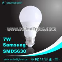 Wholesale 7W SMD5630 LED bulb lamp A65 E27 led light bulb manufacturer from china suppliers
