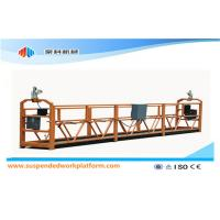 Wholesale ZLP 630 Temporarily Installed Suspended Working Platform With Rated Capacity 630KG from china suppliers