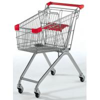 Wholesale Store / Supermarket Shopping Trolley With Plastic Powdered from china suppliers