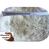 Wholesale 98% Assay Anabolic Steroid Hormones , CAS 1045-69-8 Testosterone Acetate Powder from china suppliers