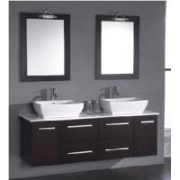 Wholesale Classical Double Sinks Wooden Bathroom Vanity (BL-S8107) from china suppliers