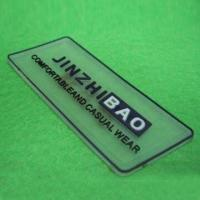 Wholesale Transparent Rubber Label, Various Logos Can be Made on Both Sides, Available in Various Designs from china suppliers