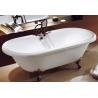 Buy cheap cUPC clawfoot acrylic free bathtubs,free standing baths,free standing bathtubs from wholesalers