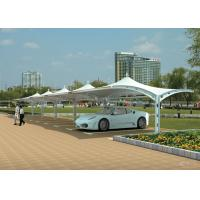 Wholesale Steel Structures Double Car Canopy Shade For Car Parking Sun Shelter from china suppliers
