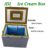 Wholesale PU + Vacuum Insulation Material Ice Cream Cooler Box For -22C Frozen from china suppliers