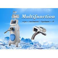 Wholesale Vertical professtional cryolipolysis cavitation rf lipolaser slimming machine from china suppliers