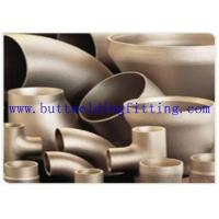 "Wholesale CuNi 90 /10  Elbow 45 / 90 / 180 degree COPPER NICKEL 90/10 Short Radius Butt Weld Fittings NPS 2"" 8"" 2MM 2.5MM 3.5MM from china suppliers"