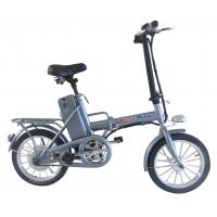 Wholesale 16'' Battery Powered Bicycle 250w brushless motor mini Folding electric e bike from china suppliers