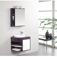 Wholesale 50 X 47 X 48 / cm PVC bathroom cabinet 48 single sink vanity customized Dimenstions from china suppliers