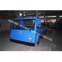 Wholesale 72V Material Transport Electric Platform Truck Blue 8 Tons Load Capacity from china suppliers