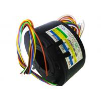 Wholesale 8 Circuits Black Compact Pancake Slip Ring With Low Friction In Medical Equipments from china suppliers