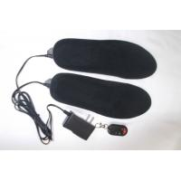 Wholesale heating EVA insoles with remote controler heating VELVET insoles from china suppliers