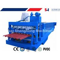 Quality Color Coated Steel Roof Panel Forming Machine Large Span For Roof Sheet Making for sale
