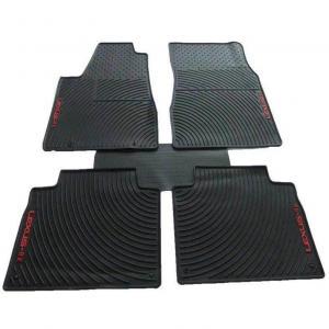 Washable Rubber Car Floor Mats Black Color For All Kind Of Car Models