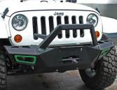 Wholesale Durable Steel 2007 Jeep Wrangler Bumpers / Front And Rear Bumpers CE Certificate from china suppliers