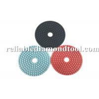 Wholesale Diamond Grit Polishing Pads ISO TUV 4 Inch Buffing Pads Working With Water from china suppliers