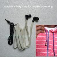 Wholesale China supplier Washable headphone woven tap earphone for garment drawstring from china suppliers