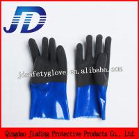 Quality JD888 Heavy Duty Industrial Gloves Nylon Safety Gloves for sale