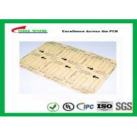 Wholesale CNC / V-CUT Surface Finish Single Sided Printed Circuit Board with Black Sillkscreen from china suppliers