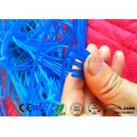 Wholesale Transparent Blue color silicone tubing 3mm Diameter ;ring silicone extruded seal from china suppliers