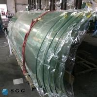 Buy cheap China curve tempered glass factory hot bent glass price 4-19mm from wholesalers