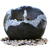 Quality Polised Finishing Modern Garden Fountains / Small Outdoor Fountains With Lights  for sale