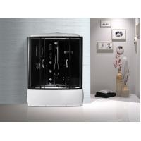 Wholesale Black  Profiles Enclosed Bath Shower Unit , Complete Shower Stall Kits from china suppliers