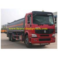 Wholesale Chemical tanker truck Sinotruk 6X4 290 HP , Petroleum Tank Trailers from china suppliers