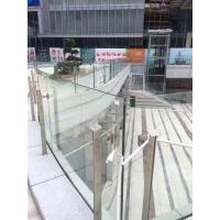 Wholesale Middle East popular glass balcony railing stainless steel posts from china suppliers