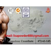 Quality Raw Steroid Powders CAS No 521-12-0 , Drostanolone Enanthate For Steroid Cycle for sale