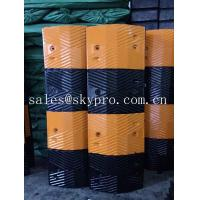 Wholesale Reflective rubber speed hump Molded Rubber Products road speed ramp from china suppliers
