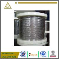 Wholesale galvanized steel wire rope 1x19 from china suppliers