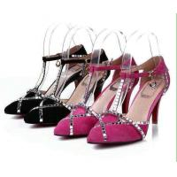 Wholesale wholesale singapore lady's French toe style dress shoes, women rhinestone pointed shoes from china suppliers