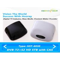 Wholesale Double Tuner Digital TV Box DVB T2 PVR HDMI H264 Full HD 1080P Set Top Box from china suppliers