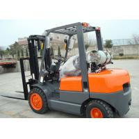 Wholesale NISSAN K25 Engine 3.5 Ton LPG forklift equipment With Solid Tires And Full Free Mast from china suppliers