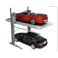 Wholesale 2 Columns Simple Car Stack Parking Equipment Car StackerC ar Elevator Parking Systems from china suppliers