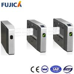 Wholesale RFID Pedestrian Turnstile Fingerprint Access Control Swing Arm Turnstile Barrier Gate from china suppliers
